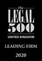 Legal 500 uk leading firm 2020